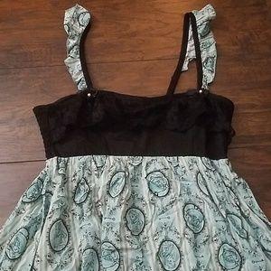 Disney Alice in Wonderland Flowy Dress